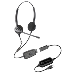 Epko Noise Cancelling Biauricular Wireless VoIP