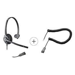 Headset - Epko Plus Noise Cancelling QD + Cabo QD Plus