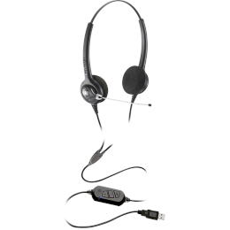 Headset USB - Epko Compact VoIP Biauricular