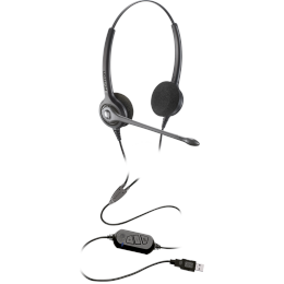 Headset USB - Epko Noise Cancelling VoIP Biauricular