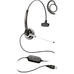 Headset USB - Stile Top Due Compact VoIP Slim
